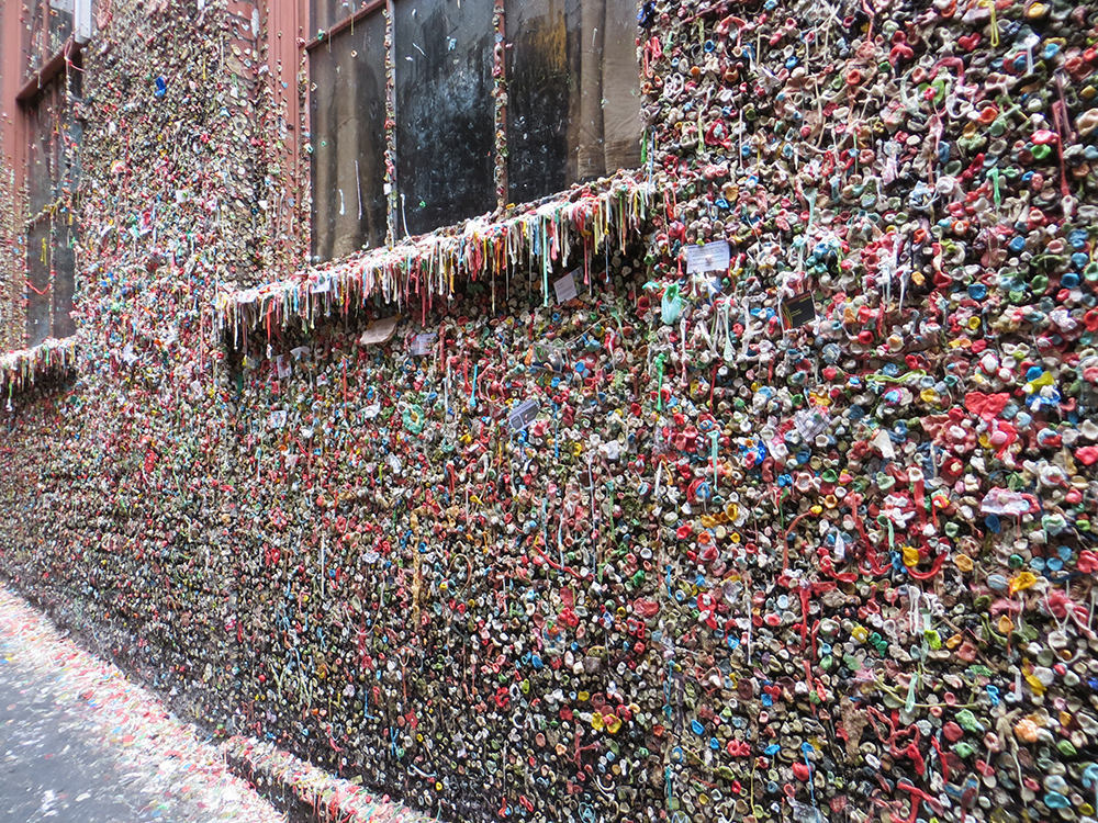 Color Story Seattle Gum Wall Daring Hue